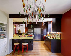 Bold Eclectic Kitchen eclectic kitchen