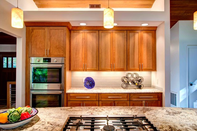 Boney Whole House Contemporary Kitchen Raleigh By Wood Wise Design Remodeling