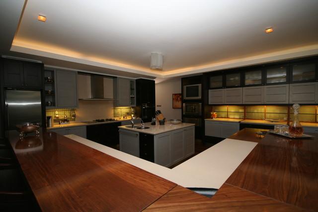 Boschenmeer contemporary-kitchen