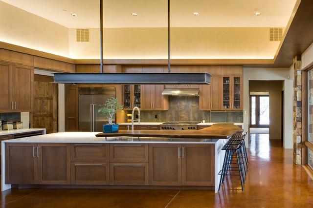 Bosque residence contemporary kitchen albuquerque for Albuquerque kitchen cabinets