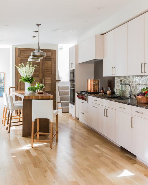 Boston Brownstone gets a Transitional Kitchen transitional-kitchen