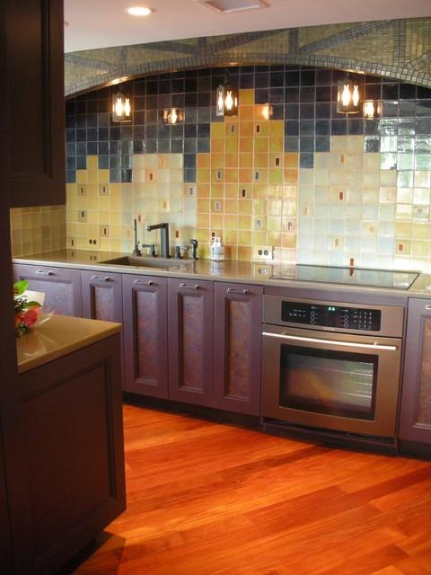 Boston Condo kitchen contemporary-kitchen