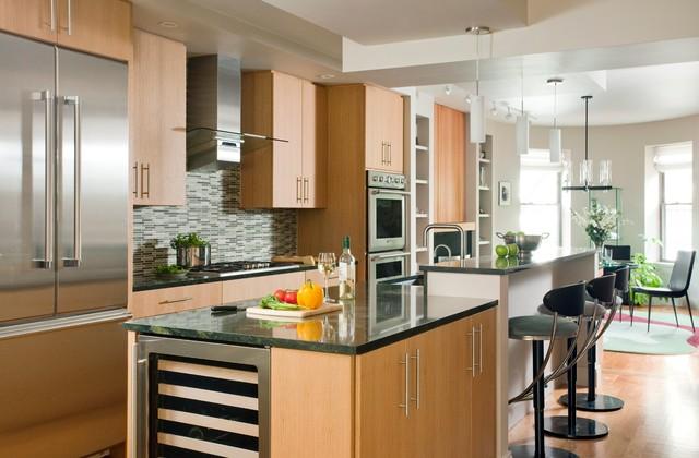 Boston Residence (19) contemporary-kitchen