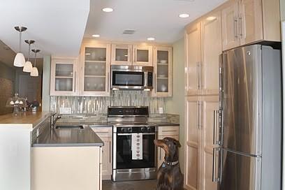 Boston SouthEnd  Condo Kitchen kitchen