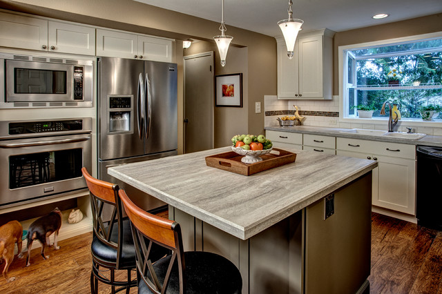 Bothell Kitchen Remodel Traditional