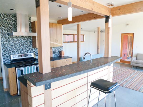 Boulder river cabin mcleod montana contemporary for Luxe decor llp