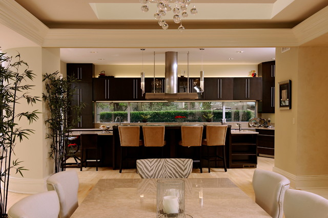 Bowa Builders contemporary-kitchen