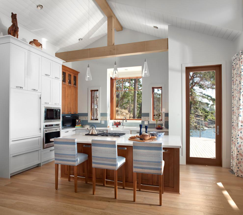 Bowen Island, New Construction - Contemporary - Kitchen ...