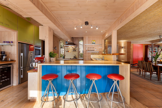 Bower House Beach Style Kitchen Melbourne By Inspace