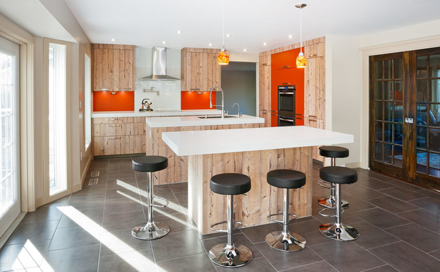 bowness modern kitchen calgary by rational
