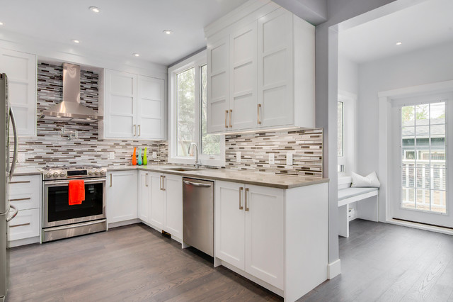 Bowness residence contemporary kitchen calgary by for Kitchen cabinets calgary