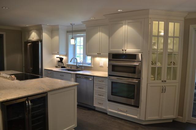 Boxwood Road Bedford Kitchen Transitional Kitchen