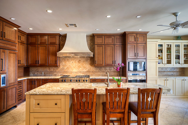 BR addition and remodel traditional-kitchen