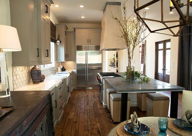 Bradford Collier Interior Design Houston West University 1 Transitional Kitchen Houston