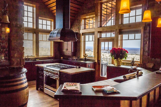 Brasada Ranch Style Homes Traditional Kitchen Other By Western Design International