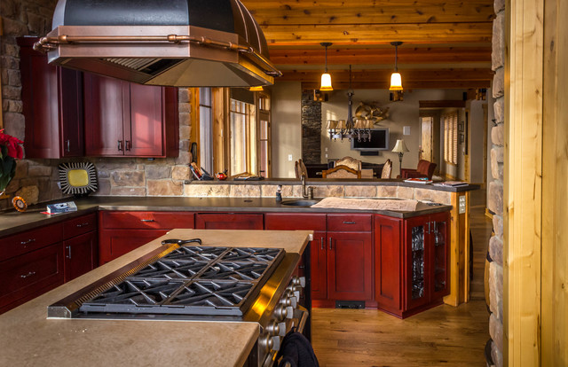 Brasada Ranch Style Homes Traditional Kitchen Other By Western Design