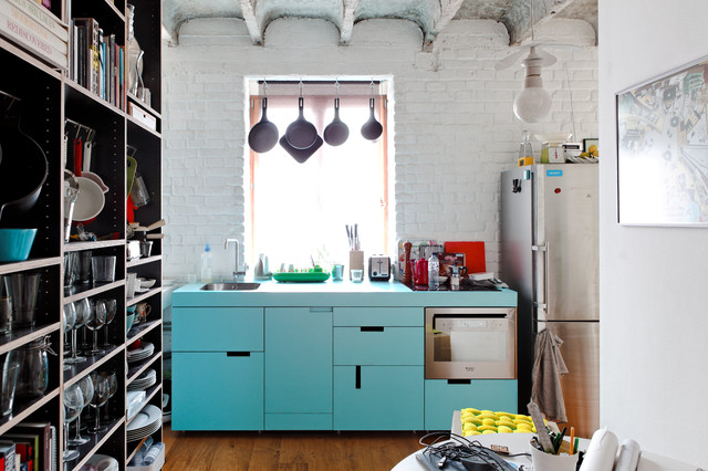 eclectic kitchen by Gut Gut