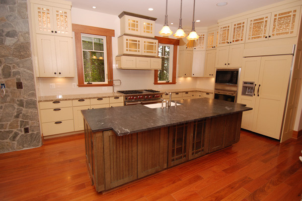 Brazilian Cherry Flooring Prefinished 34 X 5 Clear Grade Kitchen Dc Metro By