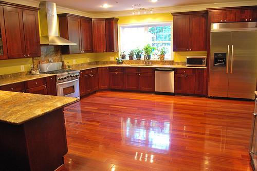 Brazilian Cherry Hardwood Floors Galeano Galeano Contractors Inc American Traditional Kitchen Dc Metro By Galeano Galeano Contractors Inc