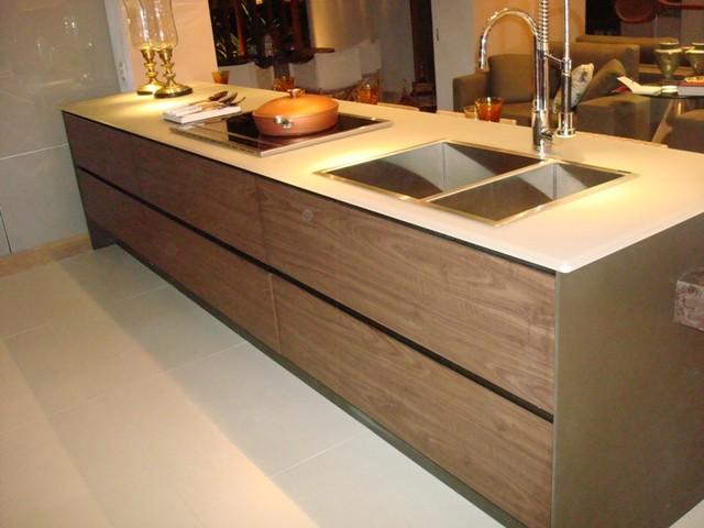 Brazilian Interior Design contemporary-kitchen