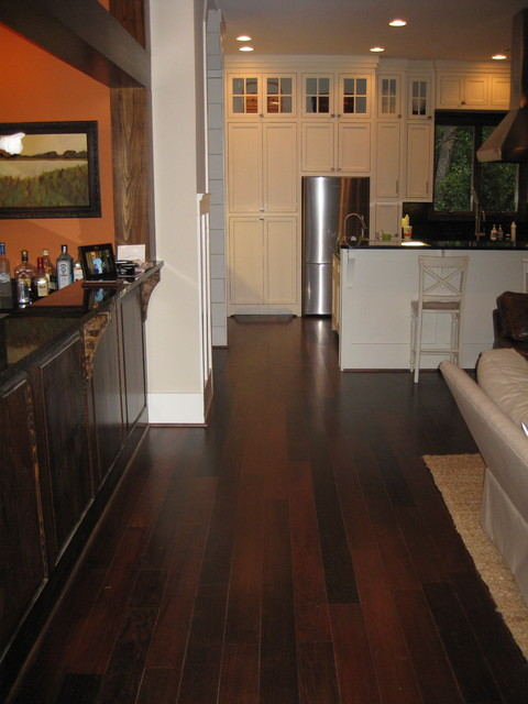 walnut kitchen floor walnut flooring st simons island ga 3344