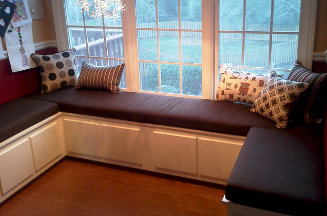 Breakfast Nook And Banquette Cushions Traditional