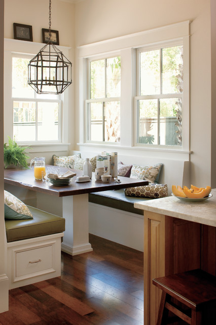 Breakfast Nook American Traditional Kitchen New Orleans By Jackson Cabinetry Llc
