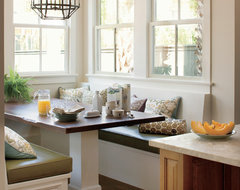 Breakfast Nook traditional kitchen