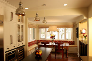 Breakfast Nook contemporary kitchen