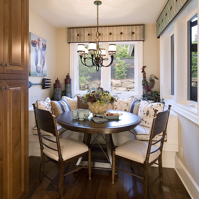 Breakfast Nook Traditional Kitchen Portland By
