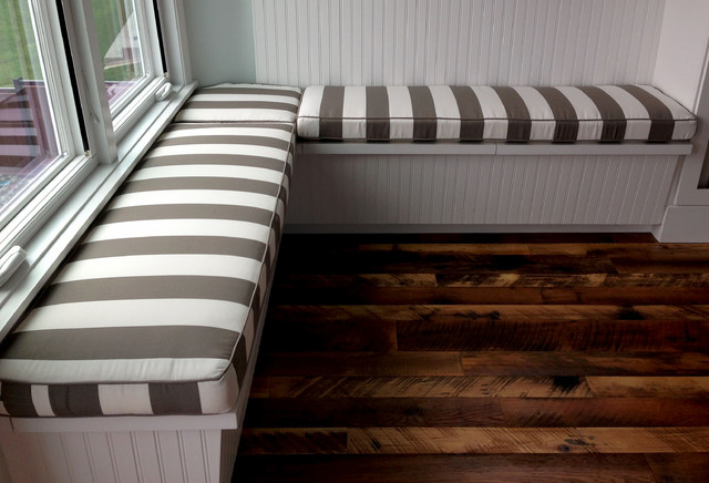 Breakfast Nooks and Banquette Seating - Traditional - Kitchen ... on banquette sofas, spray adhesive foam cushions, banquette bench chairs, banquette bench diy, banquette plans, banquette bench kitchen, diy plywood foam cushions, banquette seating,