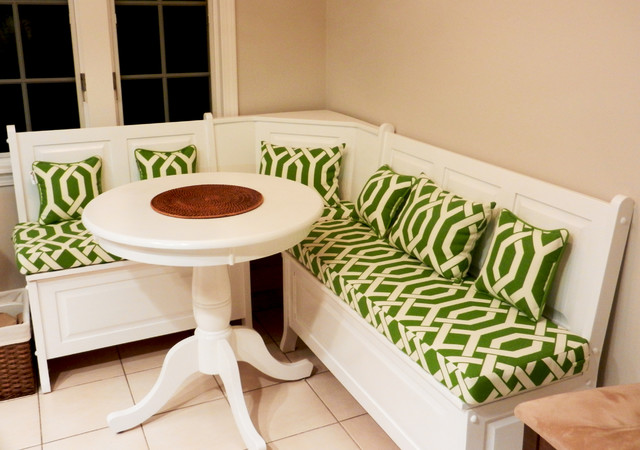 Breakfast Nooks and Banquette Seating traditional-decorative-pillows