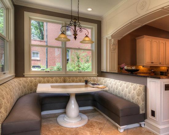 Дизайн кухни две зоны