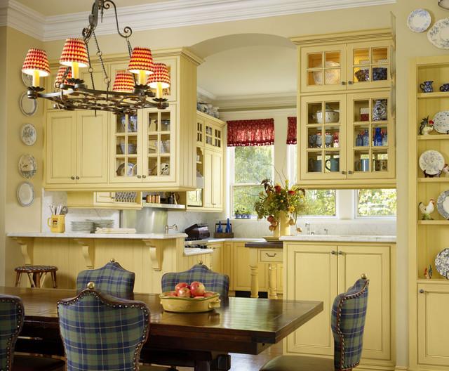 Breakfast Room & Kitchen traditional-kitchen
