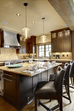 Breckenridge Residence contemporary kitchen