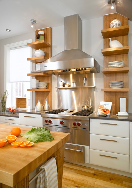 Breeze of freshness modern kitchen montreal by - Nouvelle cuisine montreal ...