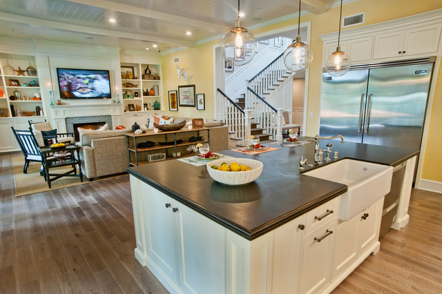 Breezy Brentwood Traditional Kitchen Other By Jill Wolff Interior Design