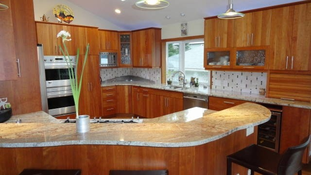 Bremerton's Chico Way Kitchen & Fireplace Remodel contemporary-kitchen