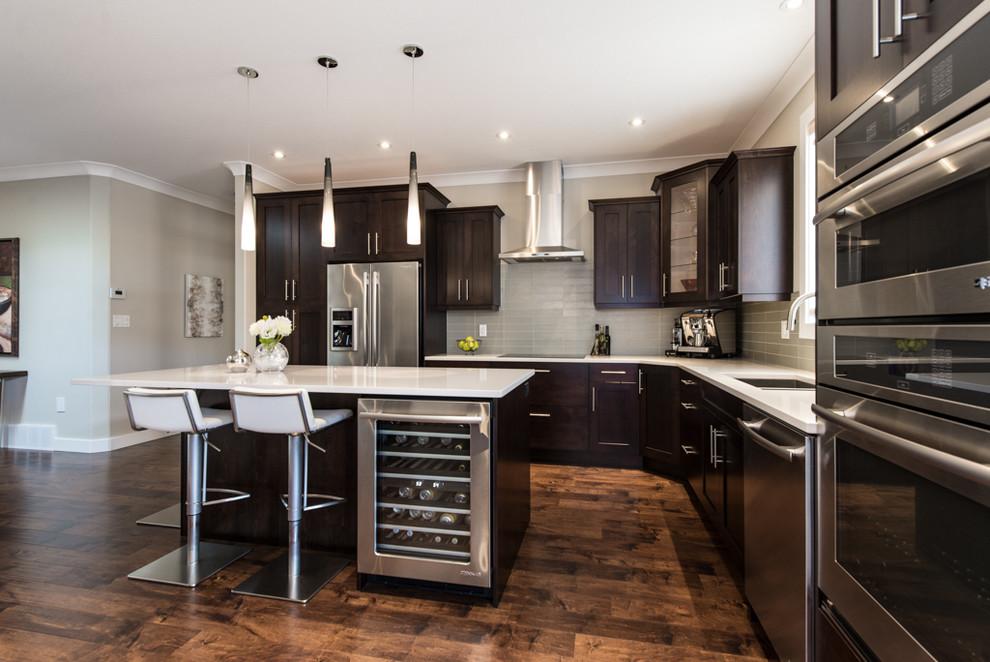 Brentview Estates Penticton Transitional Kitchen Vancouver By Niina Di Lorenzo Designs