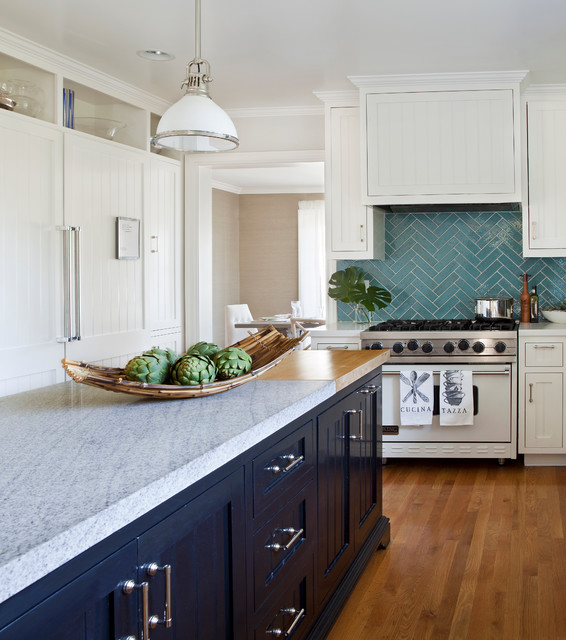 Brentwood traditional-kitchen