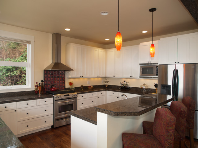 Brentwood Residence traditional-kitchen