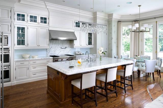 Brian gluckstein design traditional kitchen toronto for Kitchen designs toronto