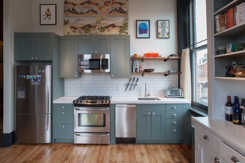 stylish kitchen accessories are the top amp bottom cabinets painted different colors if 2591