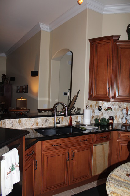 Brian's Kitchen Cabinetry in Bonita Springs traditional-kitchen