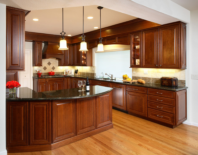 Briar Residence traditional-kitchen