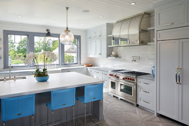 Bridgehampton transitional-kitchen