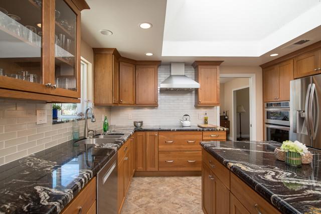 Bridgeport Kitchen Remodel In Ramona California