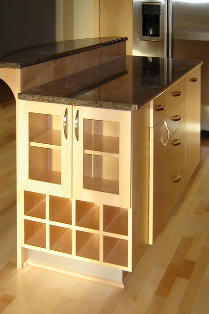 Bridgewater Contemporary Kitchen Island, Island, Kitchen Island contemporary-kitchen