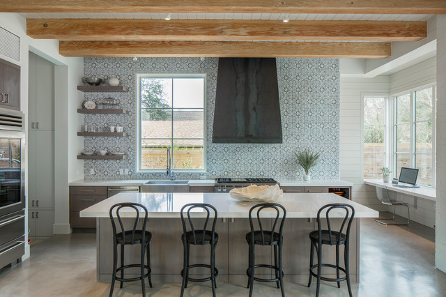 Bridle Path Residence transitional-kitchen