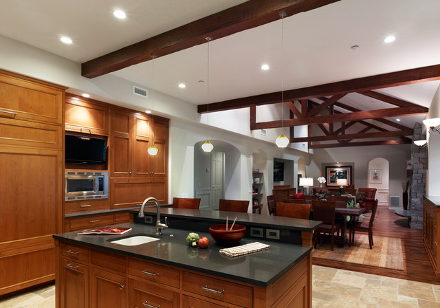 Brigham Young Residence contemporary-kitchen